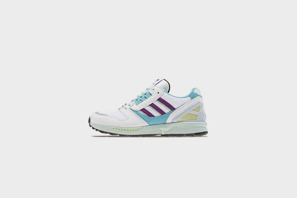 Adidas ZX8000 (White/Purple/Light Aqua)