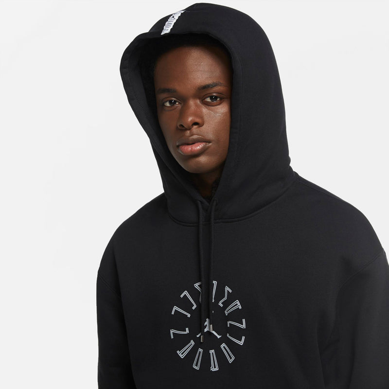 Air Jordan AJXI Black Tie Hoodie (Black)