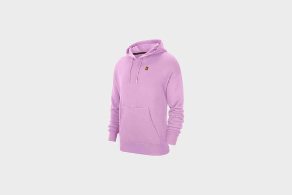 Nike Fleece Tennis Hoodie (Beyond Pink)