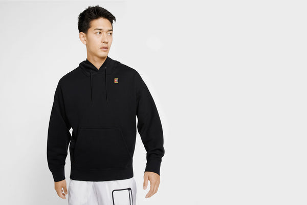 Nike Fleece Tennis Hoodie (Black)