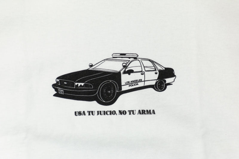 Bueno - Los Angeles Cop Car Tee (White)