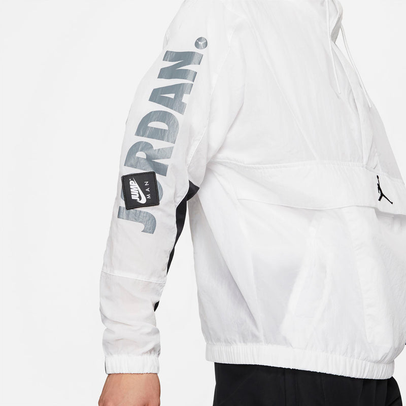 Jordan Jumpman Classic Jacket (White/Black/White)