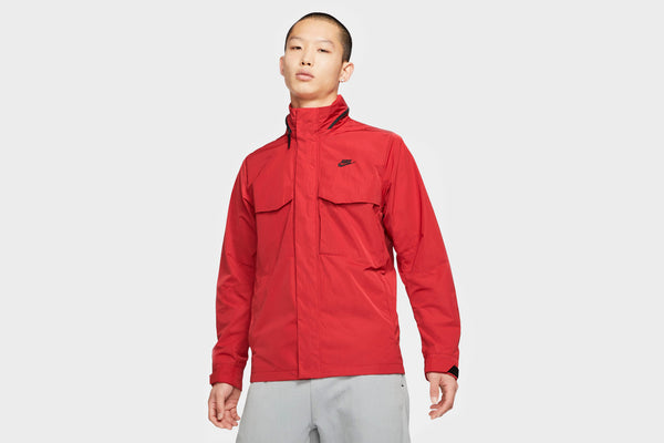 Nike Hooded M65 Jacket (University Red/Black/Black)