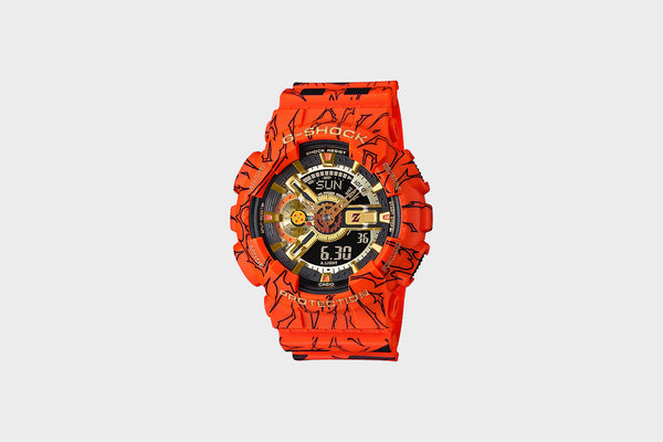 Casio G-Shock x DragonBallz (Orange/Black)