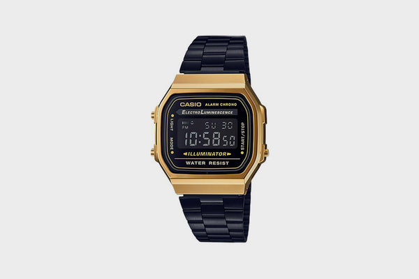 Casio Vintage Collection A168WEGB1BVT (Gold/Black)