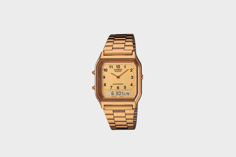 Casio Vintage Collection AQ230GA-9BVT (Gold)