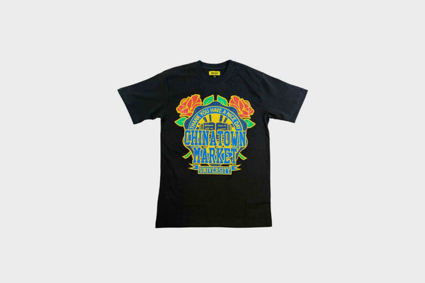 Chinatown Market Rose Garden T-Shirt (Black)