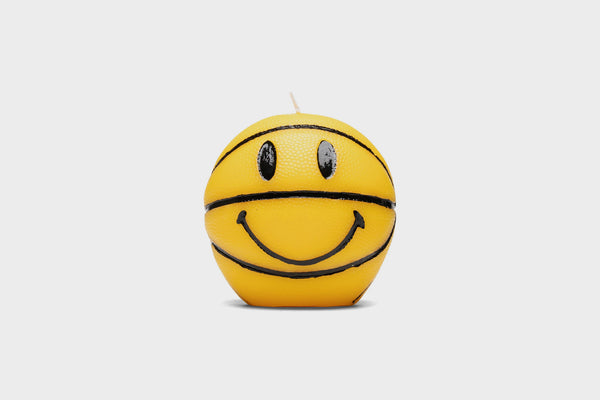 Chinatown Market Smiley Mini Basketball Candle (Yellow)