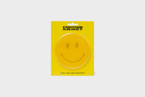 Chinatown Market Smiley Post It Note Pad (Yellow)