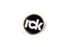RCK Circle Crest Pin (Gold/White/Black)