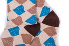 Arkansocks - Argyle State Of Mind (Bone/Slate-Brown)