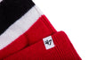 47 Brand x RCK - Travelers Breakaway Cuff Knit (Red/Black-White)