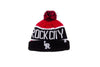 47 Brand x RCK - Travelers Calgary Cuff Knit (Black/White/Red)