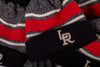 47 Brand x RCK - Travelers Fairfax Cuff Knit (Black/Red/Heather Grey/Off White)