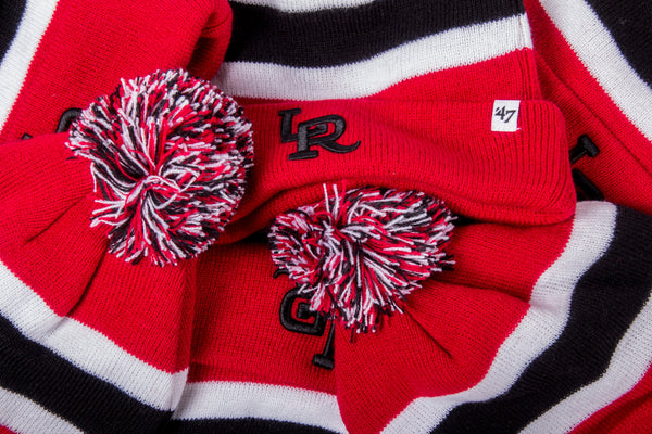 RCK x 47 - Travelers Breakaway Cuff Knit (Red/Black-White)