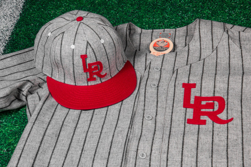 RCK x Ebbets - LR Homage Jersey (Gray/Navy-Red)