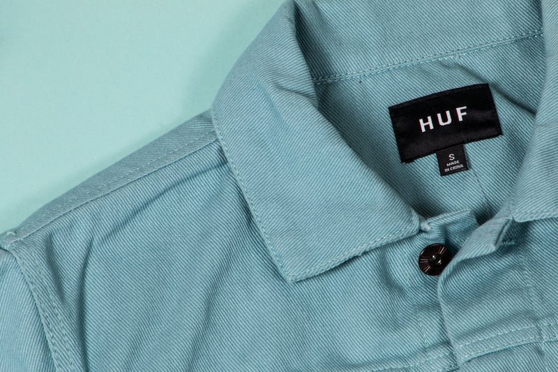 HUF - Type 1 Twill Jacket (Light Blue)