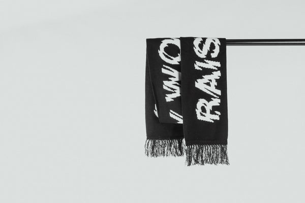Raised By Wolves - Shatter Scarf (Black)