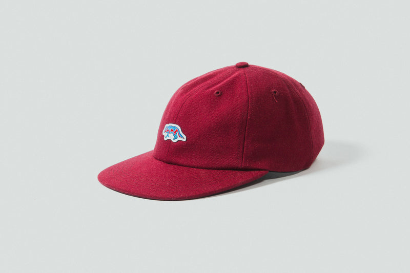 Raised By Wolves - Geowulf Polo Cap (Cardinal)