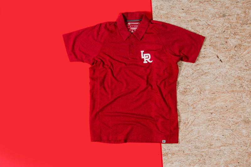 RCK x 47 - LR Forward Polo (Red/White)