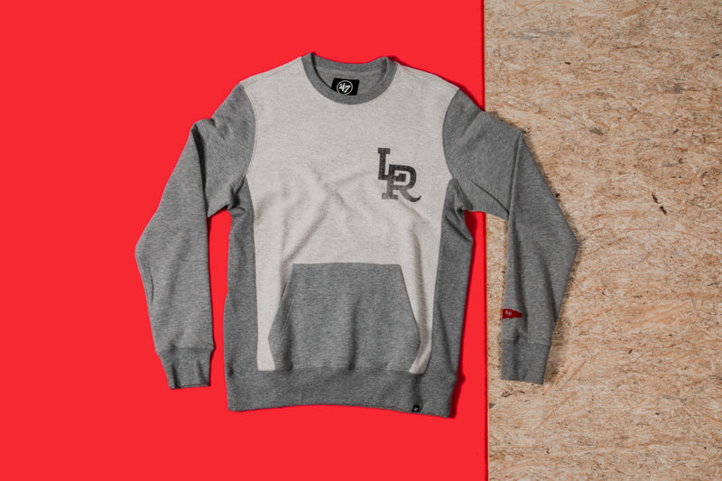 RCK x 47 - LR Reverse French Terry Crew (Slate Grey)