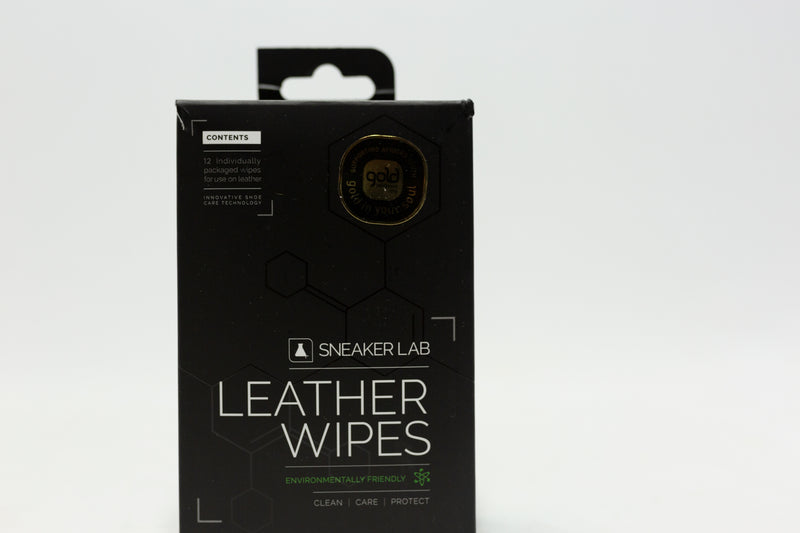 Sneaker Lab Box of 12 Leather Wipes