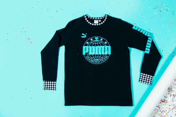 Puma X Diamond - CrewNeck (Puma Black)