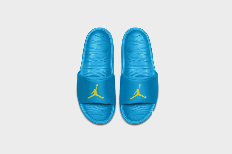 Jordan Break Slide (Laser Blue/Opti Yellow)