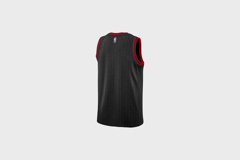Jordan Chicago Bulls Jersey (Black/Red)