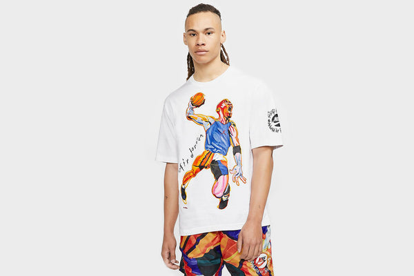 Jordan Hoop Heroes Collection T-Shirt (White)