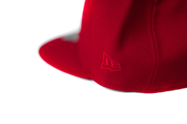 LR 5950 NewEra Fitted (Red/Red)