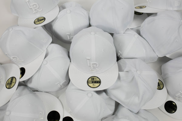 LR 5950 NewEra Fitted (White)