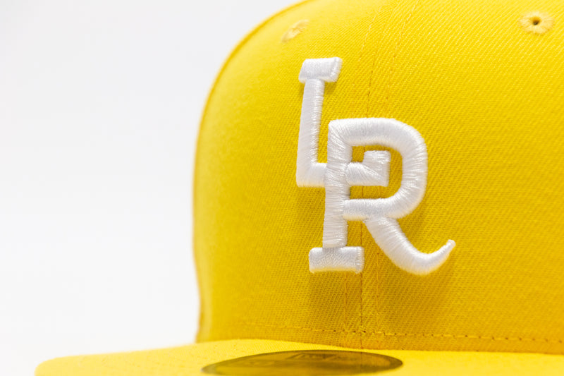 LR x NewEra 5950 Fitted (Cyber Yellow/White)