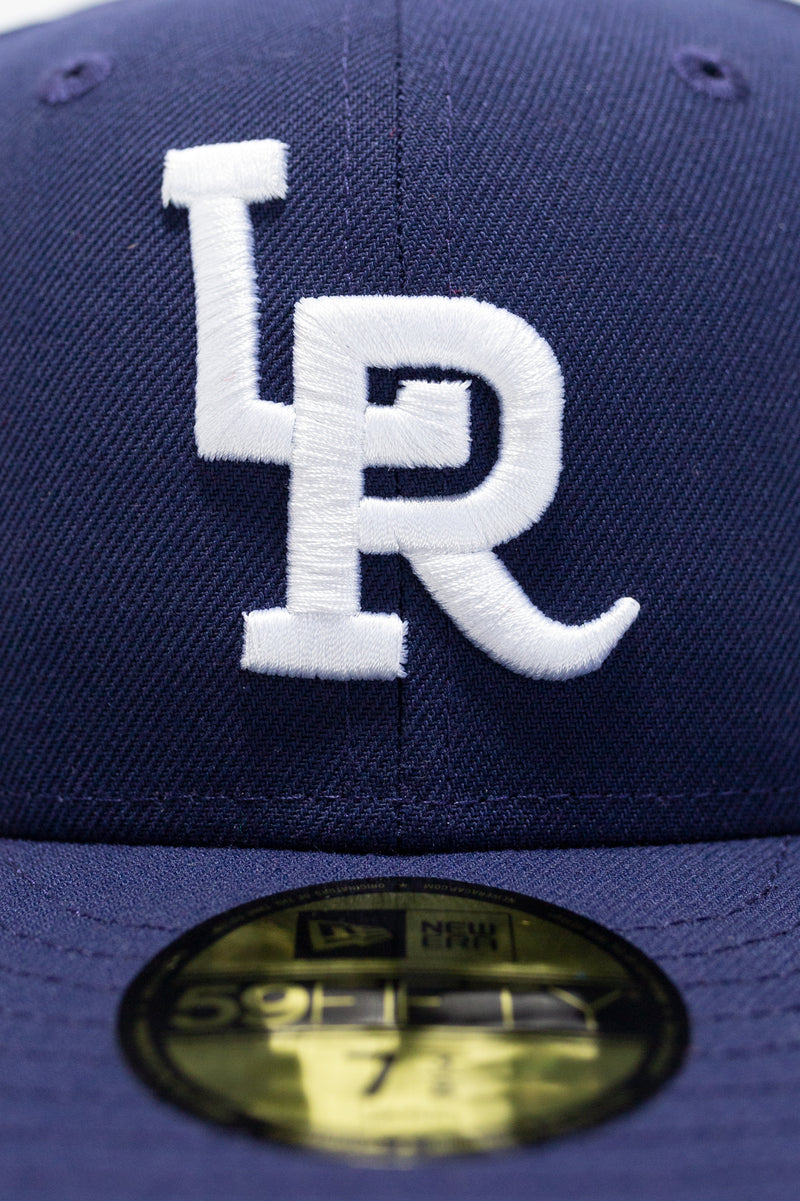 LR x NewEra 5950 Fitted (Light Navy/White)