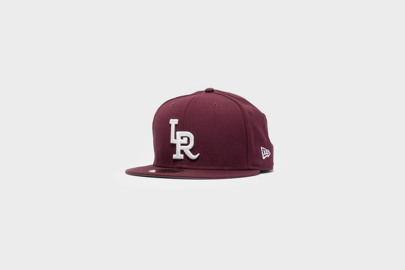 LR x NewEra 5950 Fitted (Maroon/White)