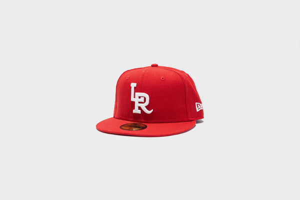 LR x NewEra 5950 Fitted (Red/White)