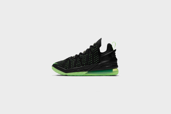 Nike - Lebron XVIII (Black/Electric Green-Black)