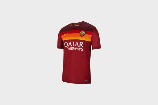 Nike A.S. Roma 2020/21 Stadium Home Jersey (Team Crimson/Dark Team Red/University Gold)