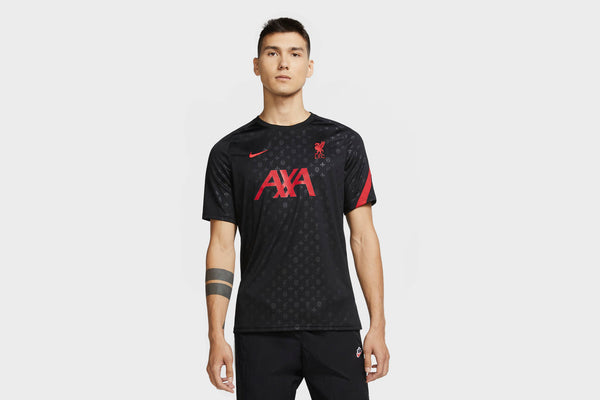 Nike Liverpool FC Men's Pre-Match Jersey (Black)