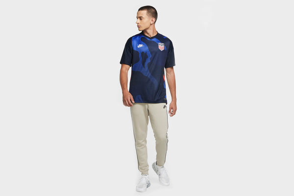 Nike Men's USA Stadium 2020 Away Soccer Jersey (Blue)