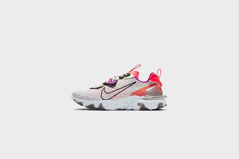 Nike React Vision (Summit White/Black-Barely Volt)