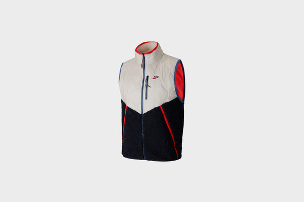 Nike Sportswear Heritage Insulated Vest (Sail/Navy)