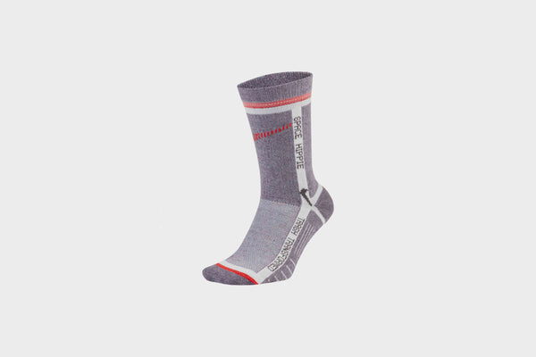 Nike Sportswear Multiplier Crew Socks Space Hippie (Grey/Bright Crimson)