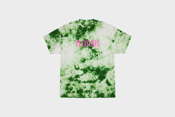 Pleasures - Aroma Crystal Dye Shirt (Natural/Green)
