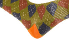 Arkansocks - Argyle State Of Mind (Deep Mandarin/Olive)
