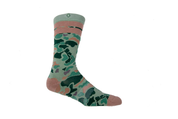 Arkansocks - Duck Camp (Olive/Dust)