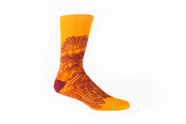 Arkansocks - MugShot (Orange Blaze/ Red)