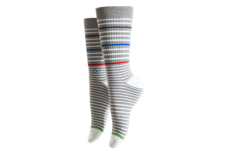 Arkansocks - The Phillip (Grey/Red-Blue/White)