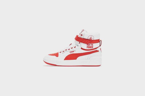 Puma Sky LX Public Enemy (Puma White-High Risk Red)
