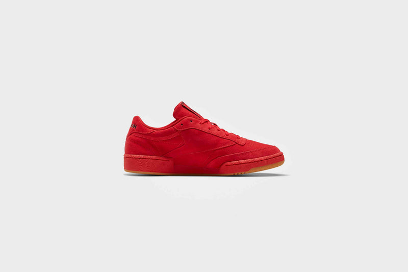 Reebok Club C 85 (Vector Red/Black/Reebok Lee 7)